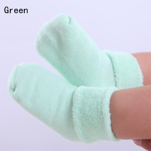 Boy Toddler Girl Soft Baby Carton Socks Crib Shoes Sole  Warm