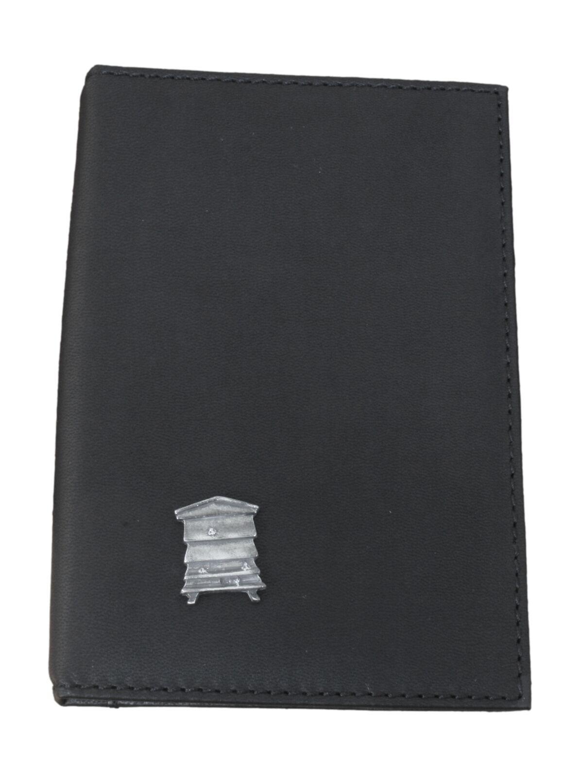 Bee Hive Black Leather Shotgun/Firearms Certificate Holder 29