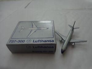 "3/"" vintage Dyna Flites-Boeing 707 LUFTHANSA AIRLINES Diecast aircraft avion"