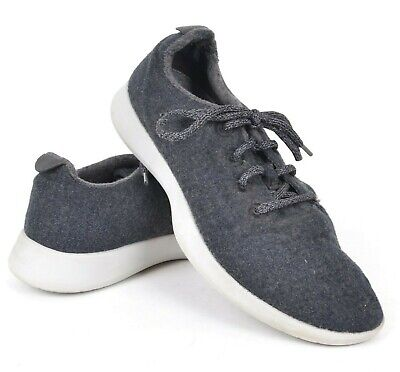allbirds men's 9 wool runner natural gray/white soles