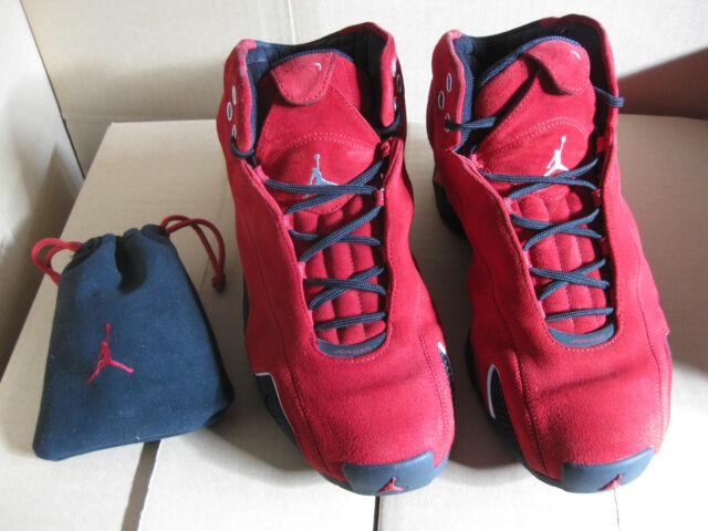 b28f54d569fe Nike Jordan 21 Red Suede Sz 9.5 for sale online
