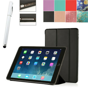 Tri-Fold Slim Case Smart Cover Stand For iPad Air 2013 A1475 A1476 with Stylus