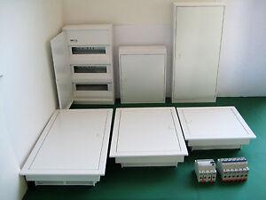 Kleinverteiler-Unterverteilung-Sicherungskasten-Verteilerkasten-leer-bestueckt
