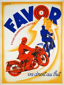 Favor Motorcycle Bike Cycle French