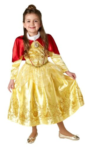 Bambine Disney Winter Wonderland PELLICCIA principessa Costumi Fancy Dress Party libro settimana