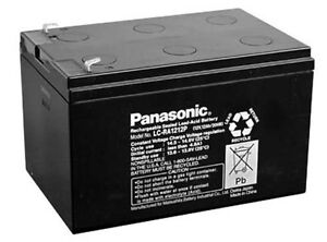 2pcs set panasonic sealed lead acid battery 12v 12ah lc ra1212 ups