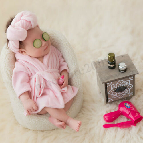 Newborn Baby Girls Boys Soft Costume Photo Photography Prop Outfits 0-6M Old