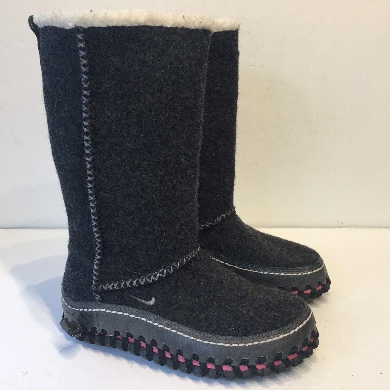 Nike ACG Valenka Wool Boots Womens shoes fleece lined warm hard 2 find RARE Sz 5
