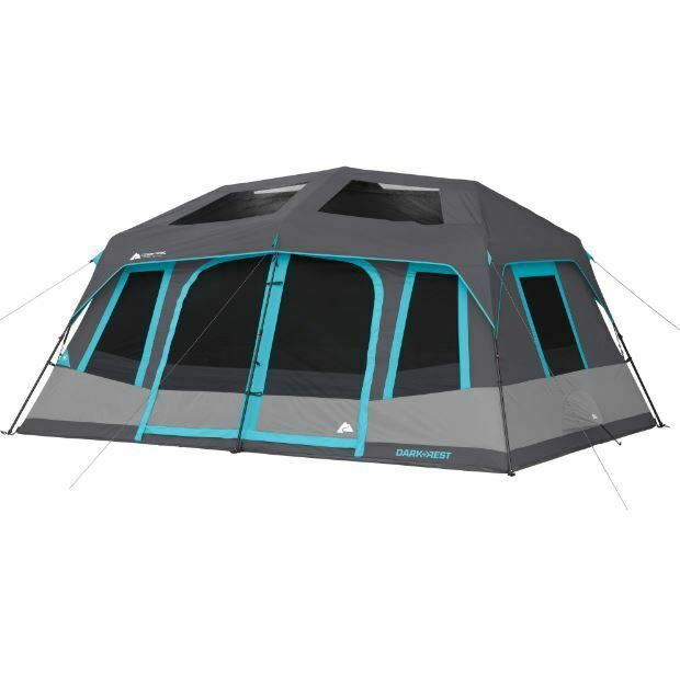 Instant camping Tent zwartout Windows SkyLicht Groot Hiking Camp All Seasons snel