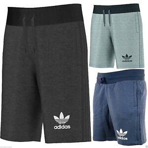 Adidas Originals 3 Stripe Essential Mens Shorts 3 Colours Rohstoffe Sind Ohne EinschräNkung VerfüGbar