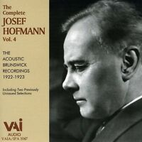 Josef Hofmann - Complete Josef Hofmann 4 [new Cd] on Sale