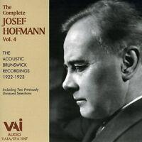 Josef Hofmann - Complete Josef Hofmann 4 [new Cd] on Sale