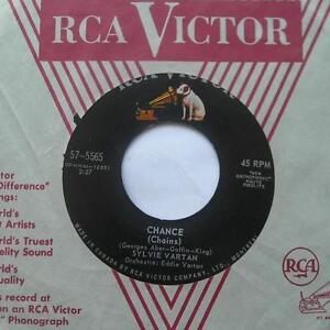 SYLVIE-VARTAN-Chance-Reponds-moi-VG-CANADA-ORIG-1963-RCA-FRENCH-POP-45