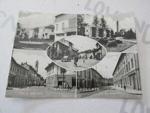 Carte Postale Période Bollate (Milano) Shipped 1955