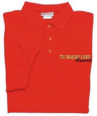 U.S.MARINE CORPS RETIRED POLO SHIRTS
