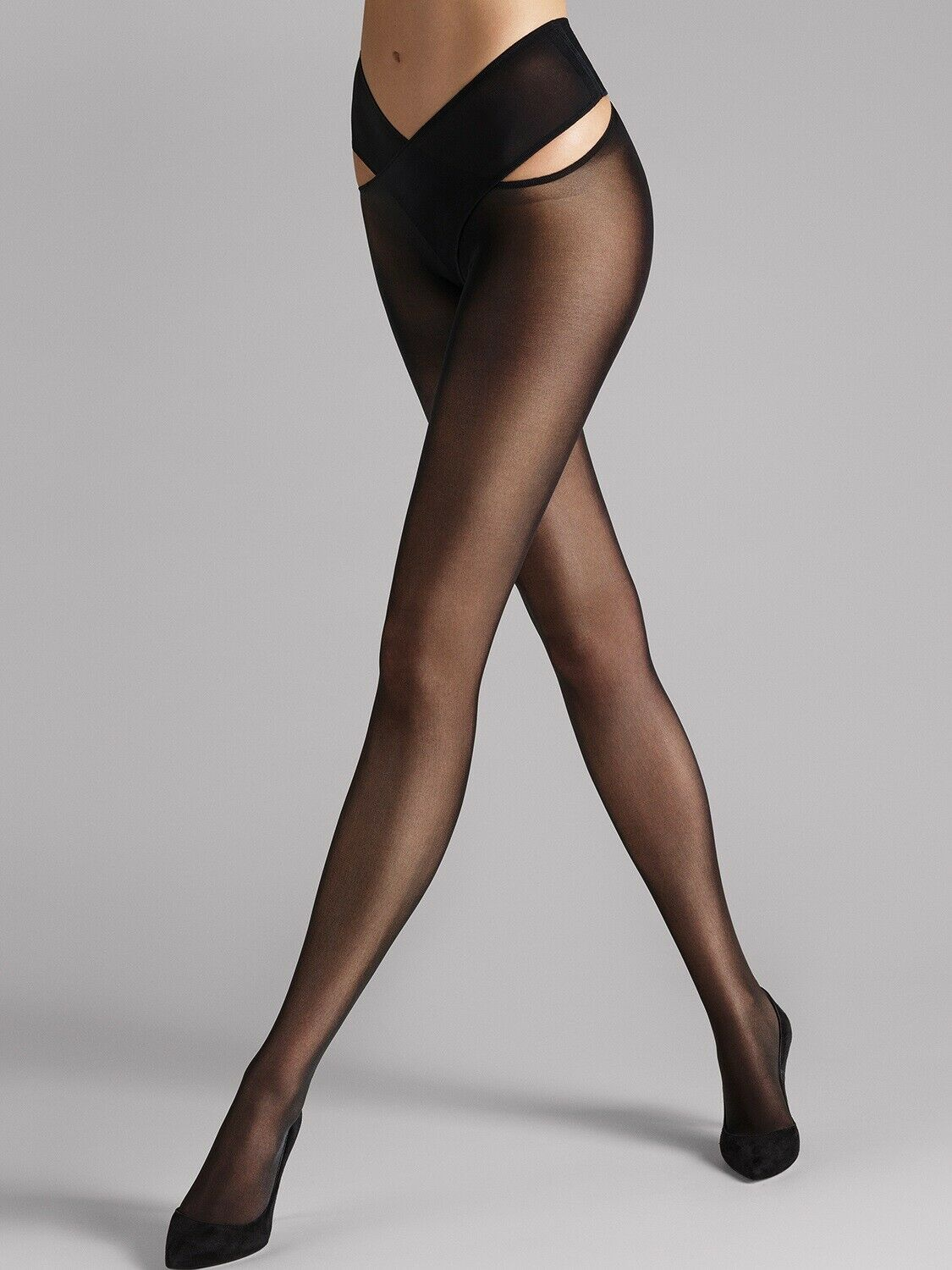 Wolford Individual 12 Stay-Hip schwarz