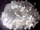 1 oz Of 90% Junk Silver lot U.S. Coins Half Dollars Dimes Quarters W/ Dates G-BU
