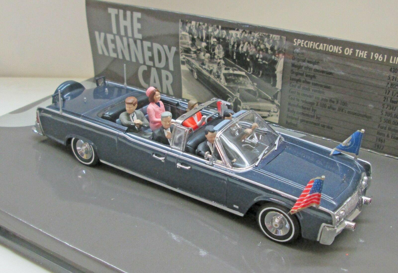 Mettre Mettre Mettre la réduction jusqu'au bout MINICHAMPS 086100 Lincoln Continental 1961 Kennedy Président parade voiture | Commandes Sont Les Bienvenues  935667