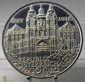 10-Euro-2007-Stift-Melk-PP-Silber-925