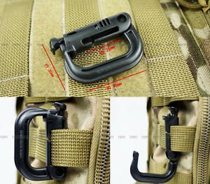 5pcs-Molle-Tactical-Climbing-Clip-Carabiner-Locking-D-Ring-Hook-Safety-Buckle