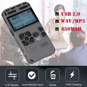 64GB-LCD-Digital-VOICE-RECORDER-Flash-Memory-Ghost-Hunting-Paranormal-Equipment
