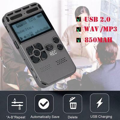 64GB LCD Digital VOICE RECORDER Flash Memory Ghost Hunting Paranormal  Equipment | eBay