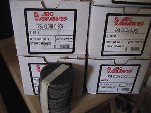 """2/"""" X 40 GRIT S//C PSA DISC B77-100"""