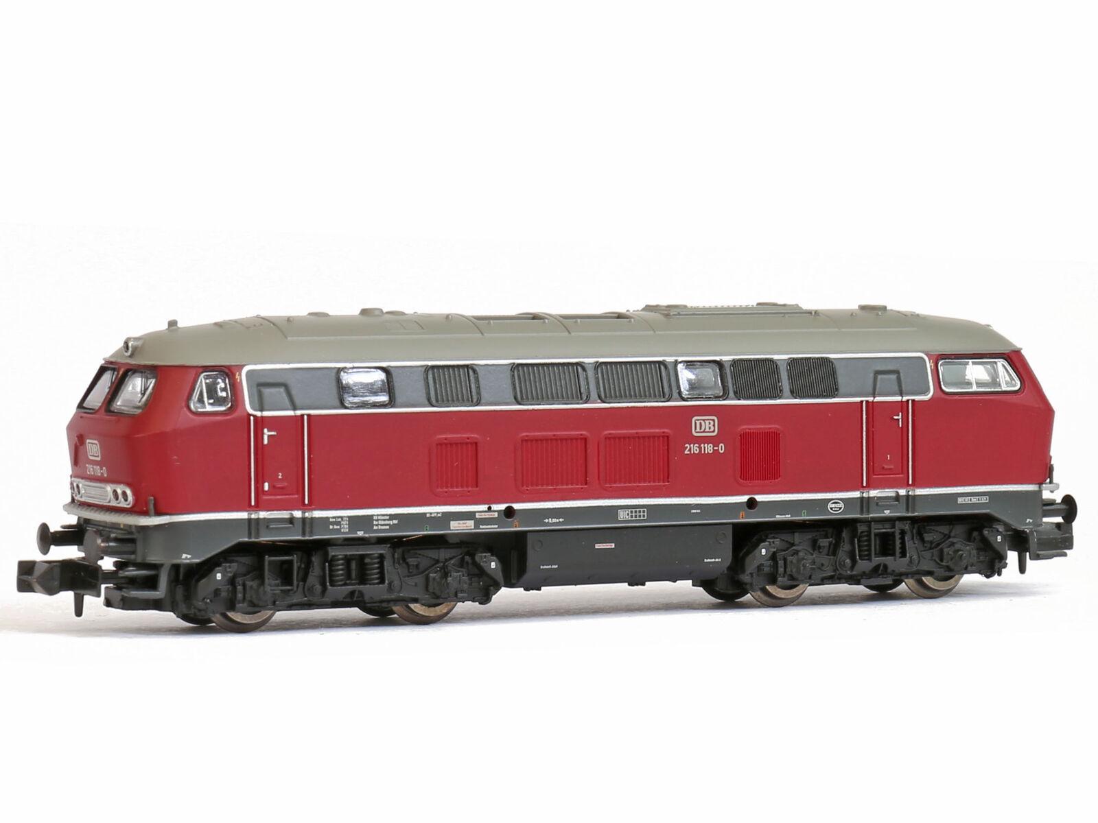 BRAWA 61209-DCC + SX + Sound Diesel BR 216 DB Ep. IV-Spur N-NUOVO