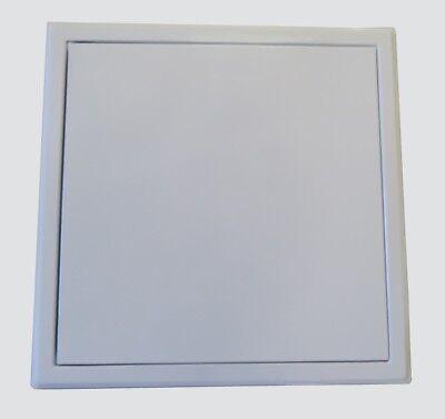 FleißIg Revisionsklappe Revisionstür Weiß Softline Mit Schnappverschluss 300x300mm