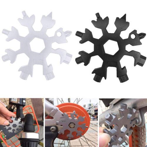 Snowflake Multi Tool Snow Flake 18-1 Steel Shape Flat Cross Hand Schraubendreher