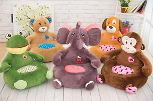 Children's cartoon animal rest comfortable playing sofa child chair toys