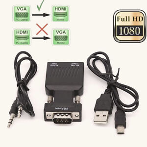 VGA-To-HDMI-Adapter-with-Audio-Male-VGA-to-Female-HDMI-Converter-Laptop-To-TV