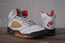 1999 Nike Air Jordan Fire Red 5 V Retro NIKE AIR Fire Red size 9