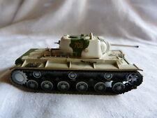 Tank char blindé  de combat - 1/72 - KV1 modèle 42 - A identifier