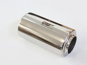 Universal-Schalldaempfer-76mm-3-034-rund-Edelstahl-125mm