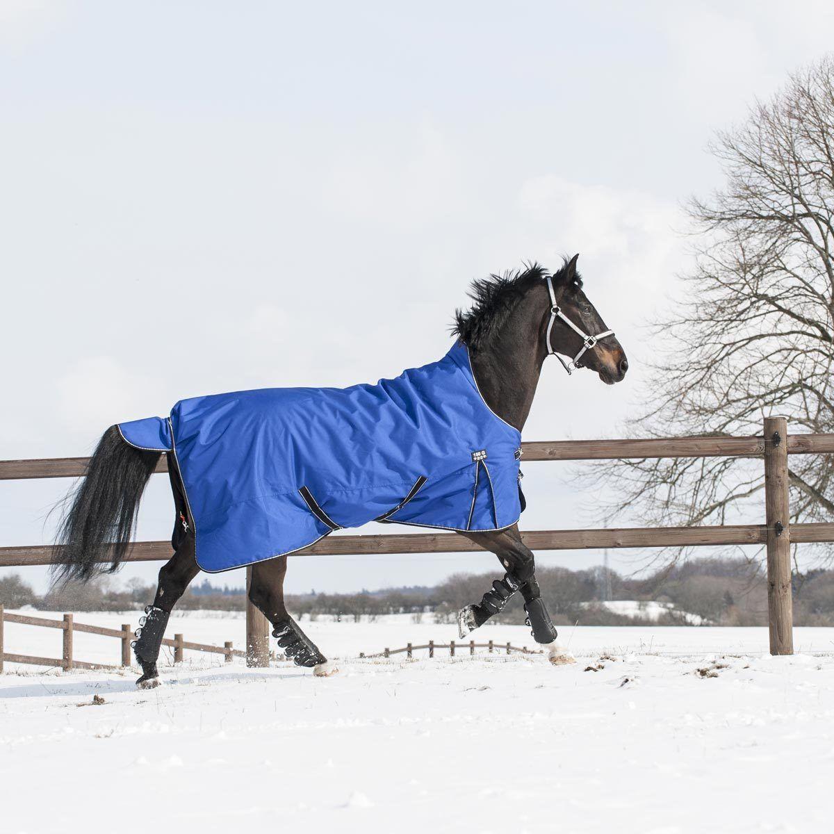 Catago outdoordecke Plus-lluvia manta-Royal-azul-caballos manta manta de caballo