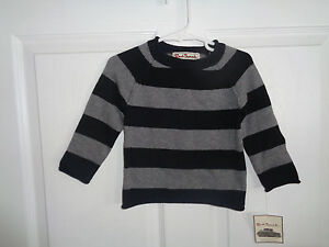 Nwt Toddler Boys Red Truck Black Gray Sweater Size 18m Ebay