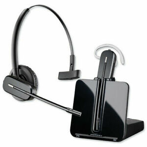 Refurbished Plantronics Cs540 Convertible 3 In 1 Wireless Phone Headset 84693 02 Ebay