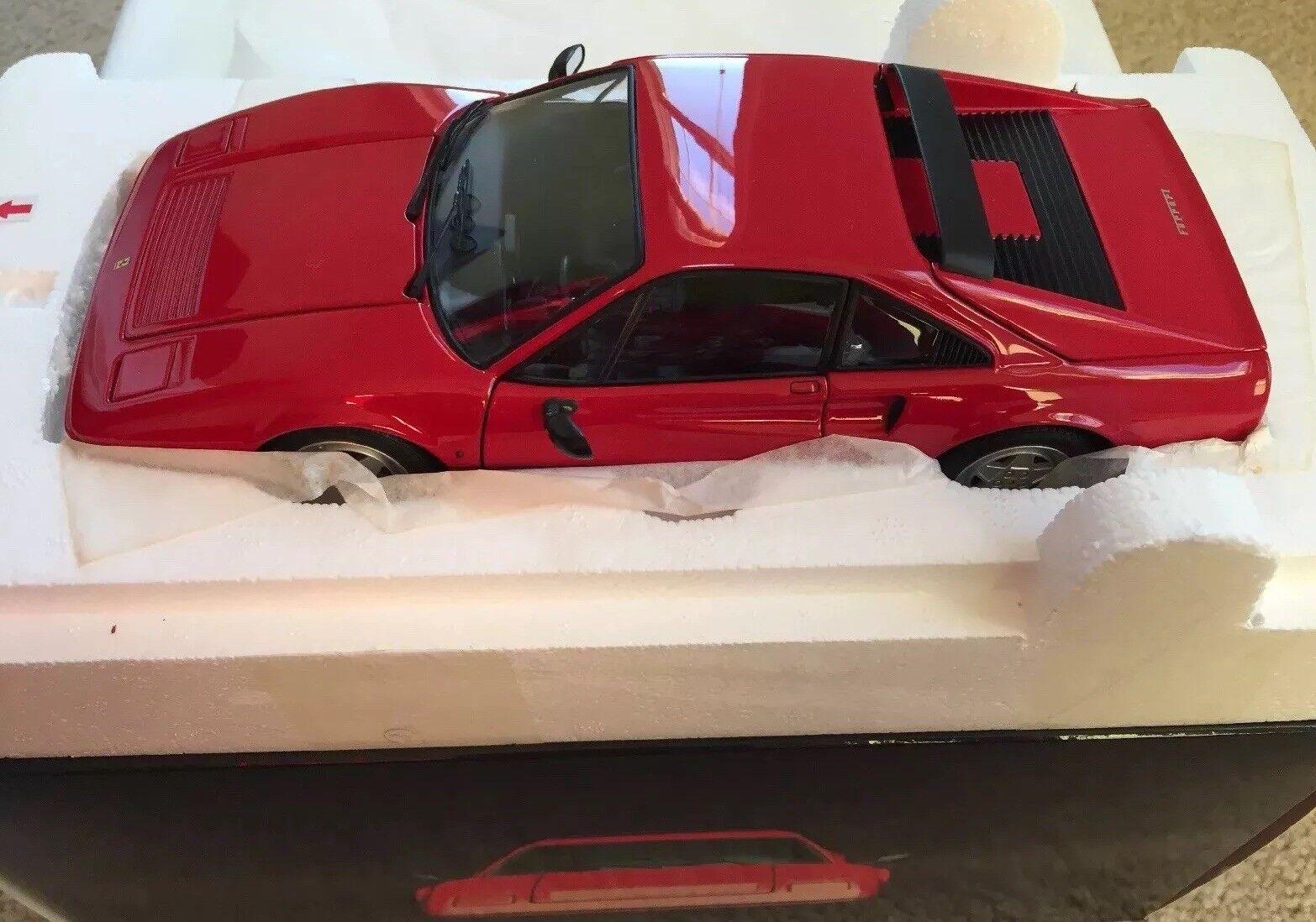 1 18 Kyosho Rare Soldout Ferrari 328 GTB 1988 rosso