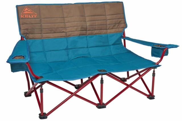 Magnificent Double Folding Chair Outdoor Portable Loveseat Travel Picnic 2 Person Yard Seat Theyellowbook Wood Chair Design Ideas Theyellowbookinfo