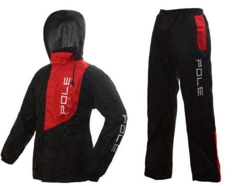 New Men/'s Outdoor Water-Resistant  Motorcycle Riding Raincoat Rain Pants Suit