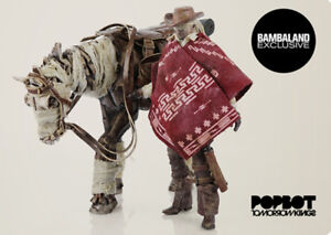 ThreeA-3-A-Portable-Blind-Cowboy-amp-Ghost-Cheval-Set-1-12th-Scale-Action-Figure