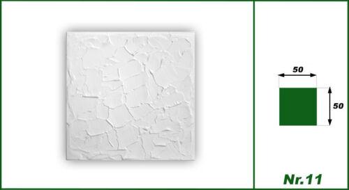 20 qm Deckenplatten Styroporplatten Stuck Decke Dekor Platten 50x50cm Nr.11