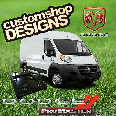 Dodge Promaster Camper Van Motorhome Double Seat Swivel Base Rhd Uk Model Ebay
