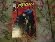 Robin #1 (DC Comic, 1991) The Adventure Begins, January 1991
