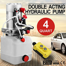4L Hydraulikaggregat, Hydraulik Pumpe 12 V Pumpe LKW Anhänger FACTORY DISCOUNT
