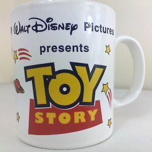 RARE-Toy-Story-Mug-Vintage-Disney-Pixar-Collectable-Cup-Buzz-Lightyear-VGC