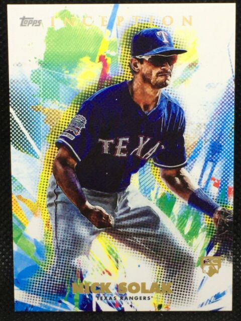 2020 Topps Inception Nick Solak RC #67 - Texas Rangers