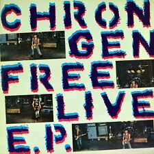 """7"""" CHRON GEN Free Live EP Living Next Door To Alice/Puppets Of War PUNK OI! 1981"""