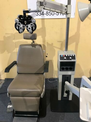 Marco examination chair instrument stand Phoropter Slit Lamp Ophthalmic Lane
